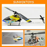 Lastest Integrated Design 6CH 3-Axis Gyro Flybarless Metal Pro Helicopter with 3D Inverted Flight , Super 3D RC Helicopter