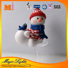 China Supplier Handmade Xmas Santa Claus Cake Decoration