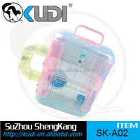 Durable double layers hamster cage