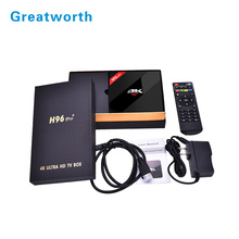 2017 NEW T96 pro H96 pro PLUS Android 6.0 Android 7.1 5g WiFi Kodi 17.3 iptv Smart TV Box