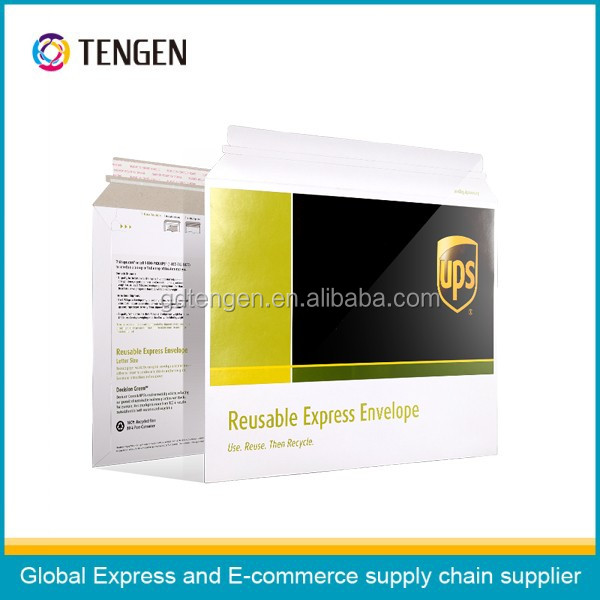 UPS High Quality Self-adhesive Hard Cardboard Envelope