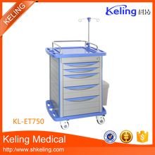 Hot sale bottom price hospital surgery instrument trolley With Good After-sale Service