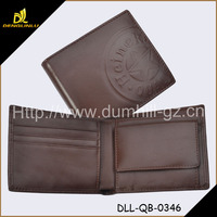 Brown napa leather wallet men leather new 2015