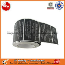 Stick on food label,waterproof paper food label
