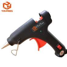Hot Sale Factory Supply 25W Blue Color DIY Small Mini Handicraft Hot Melt Glue Guns with Switch for Hot Melt Glue Sticks