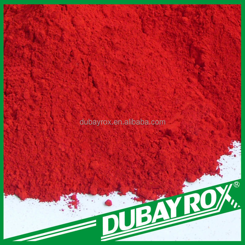 Popular building materal ink pigment usage molybdate red 207