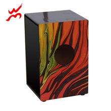 Traditional frame12mm birch wood travel cajon hand drum