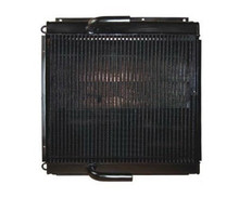 high quality aluminum hydraulic oil cooler for excavator E120B