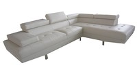 Living room sofa modern furniture L shape sofa cum bed sectional corner sofa