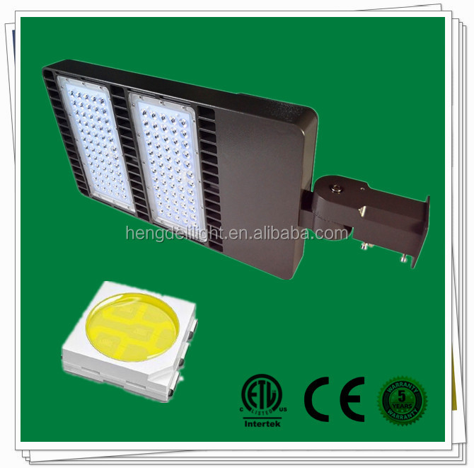 200W 300W commercial led parking lot lighting