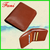 Fashion small leather men pocket purse is very convenient to carry