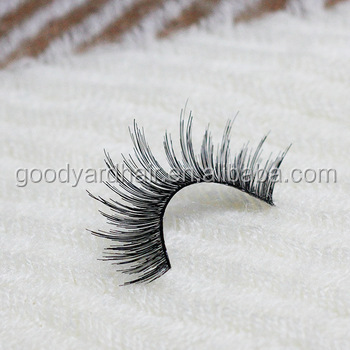 OEM service natural wholesale mink strip eyelash