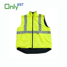 China manufacturer reflective safety clothing green fire resistant coat