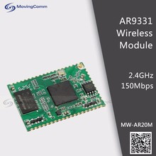 Low Power 3.3V MW-AR20M OpenWRT 2.4GHz 150Mbps Atheros AR9331 Stamp Hole Wifi LAN Module
