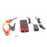 Jump starter licoo2 12000mah Battery red-black Car Jump Starter with Burst Flashing for Car
