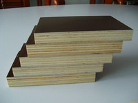 Finger joint core poplar core film faced plywood, linyi supplier