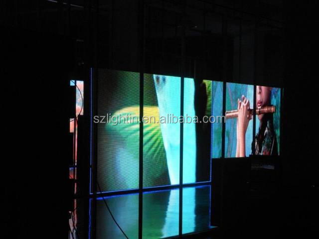 electronic visual display boards P1.9 LED indoor Moving Wall
