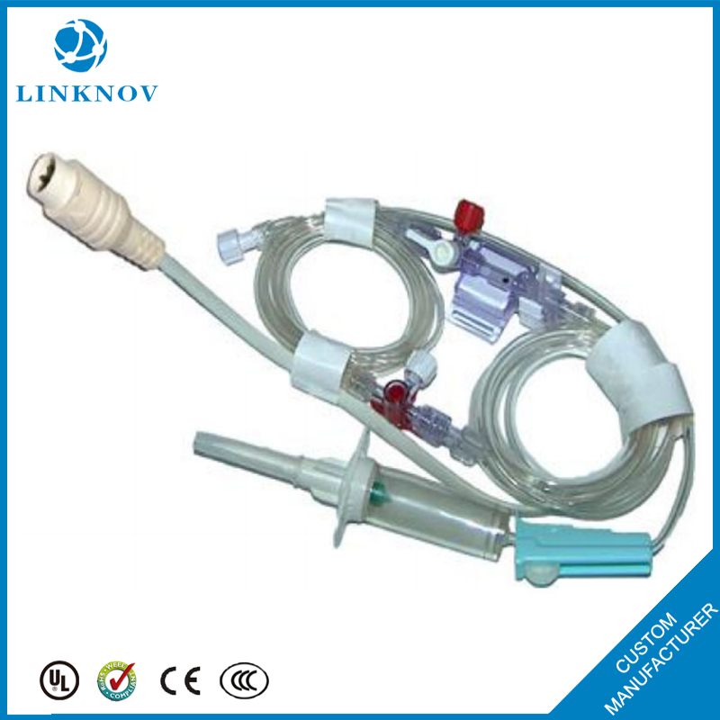 China OEM Disposable IBP Use To Medical Invasive Blood Pressure Transducer