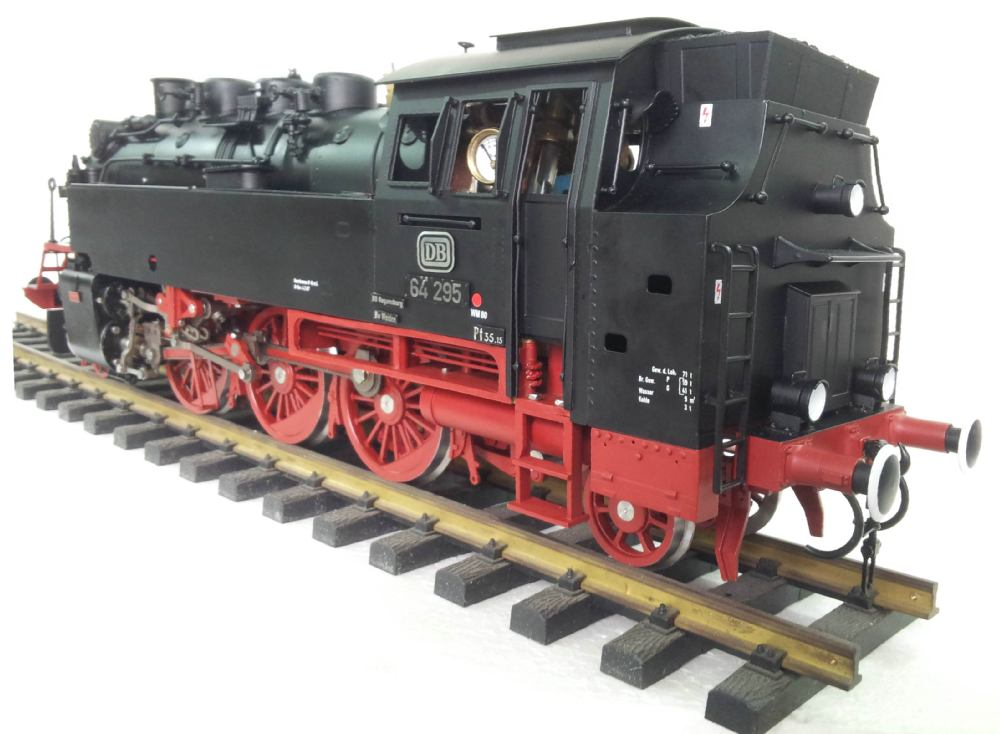 BR64 ,1:32 live Steam locomotive (Brass made)