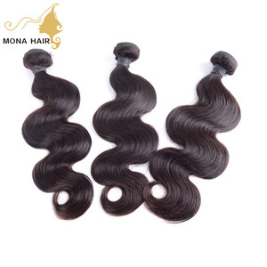 One donor one bundle cuticle raw human hair wholesale can be permed body wave style chinese hair vendors