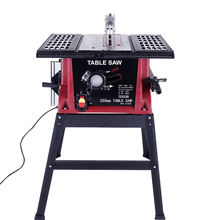Multi Function Adjustable Woodworking Table Saw Small Household 8 Inch Electric Saw Woodworking Saws