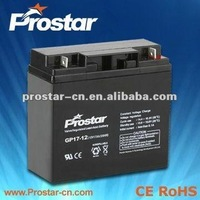 rechargeable high quality 12volt 12ah lead acid battery