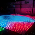 Super slim 60x60cm led digital dance floor disco light club floor led dance floor led illuminated stage