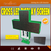 PanaTorch Double Sided P10RG Digital Billboard Display IP65 Waterproof excellent service For clinique