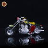 WR Fashion Accessory Motorcycle Model Handmade Mini Motorbike Iron Decor Toy Collectible Home Office Ornaments 17*4.5*8cm