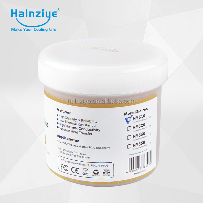 Silicone cpu thermal paste/compound/grease with conductive performance in cpu heat sink