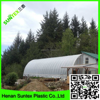 150 micron transparent commercial greenhouse impermeable woven fabric film,recycled