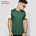 Knitted t shirts made in china sports short sleeve t shirts with mesh
