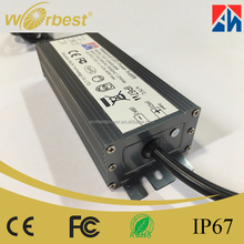 Worbest 48W 12V Waterproof Electronic LED Driver LED Switching Power Supply IP67