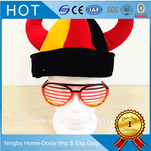 Hot sale Different countries footabll fans souvenir sun glasses for 2018 World cup