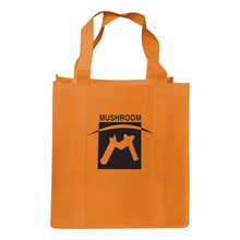 Durable supermarket non woven carry bag with handles