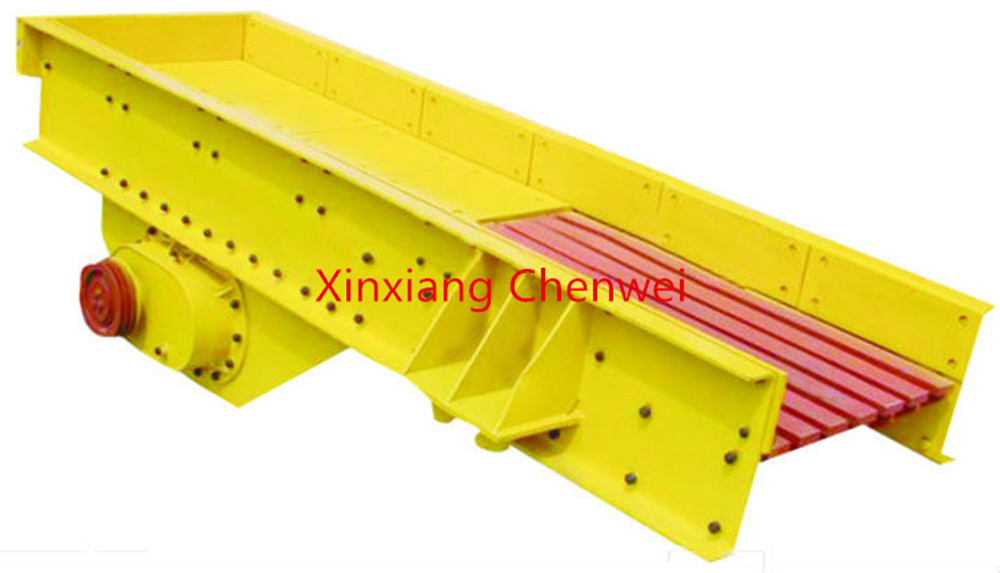 Chenwei released high quality and low price Grizzly Feeder for stone crushing plant/grizzly feeder from Henan Xinxiang