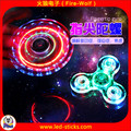 Crystal LED Light Fidget Spinner with Switch