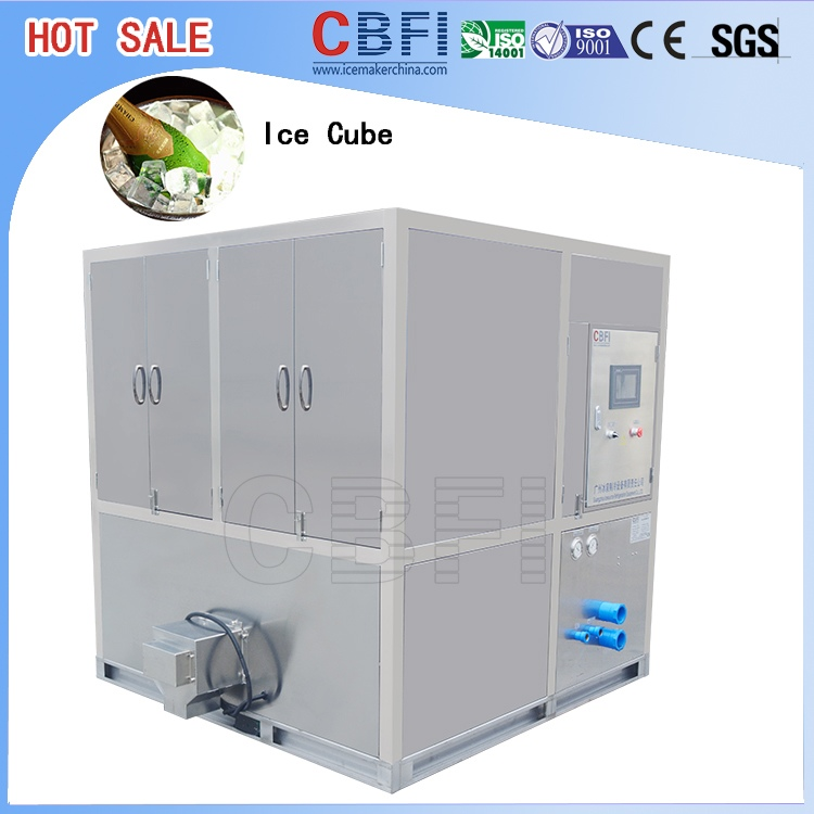 manufacturer cube ice machine making plant