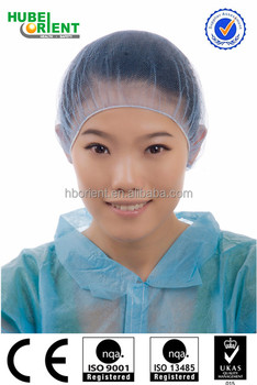 manufacturer disposable nylon hair net for food safety and clean room
