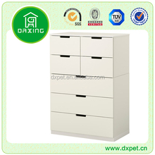 Wholesale wooden white storage wardrobe