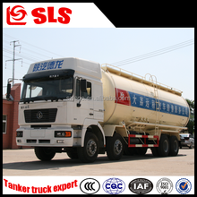 FAW 4 axles 8*4 powder transport tank truck 30000L capacity