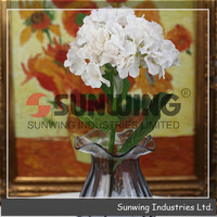Table wedding decoration artificial flowers, decorative artificial flower wreath, fake flowers wedding decoration