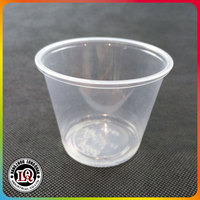 Clear Disposable Sauce Cup Mini Jam Cup Portion Container