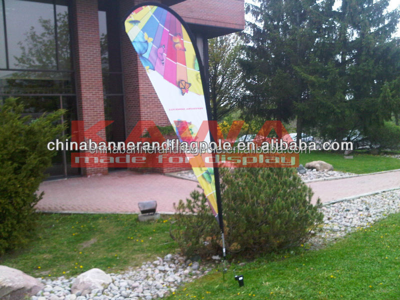 high quality promotion fiberglass poles for bike flag, advertising flagpole for flags all countries, wholesale garden flags