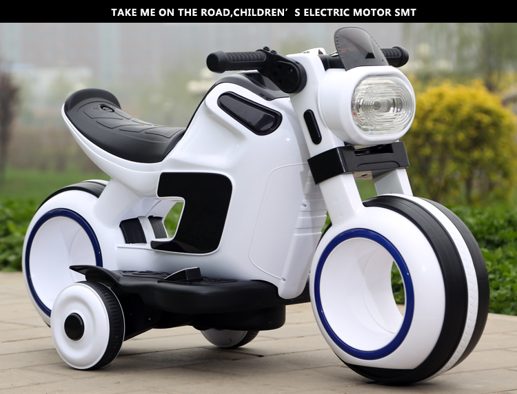 Wholesale 2016 New Model Battery Power 3 Wheel Kids Electric Motorcycle