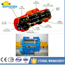 CD elecrtic wire rope hoist with trolley