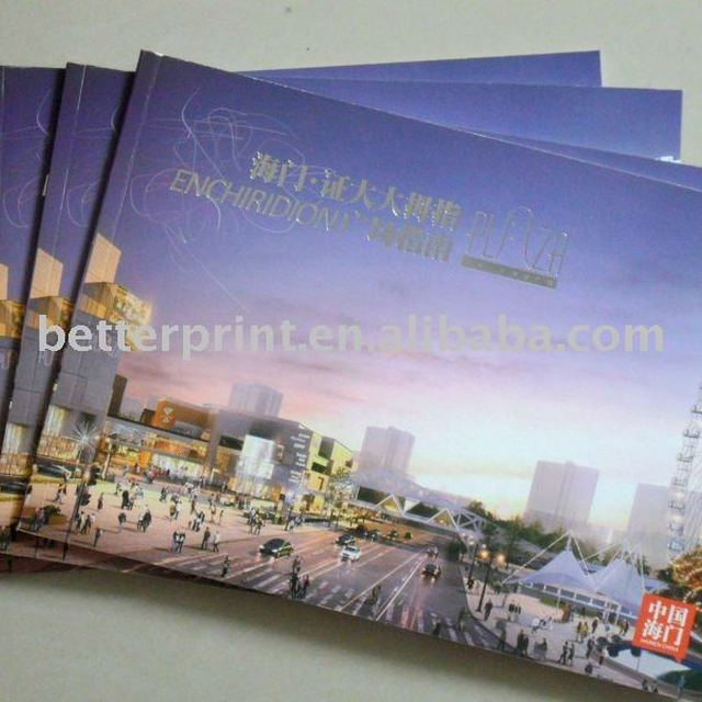printed product brochure and catalogue with competitive price
