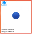 half rubber bouncing ball with hole/bouncing pet balls
