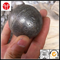 high chrome oil quenching casting iron steel ball for mines