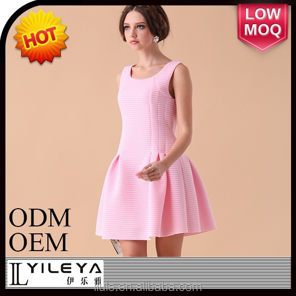 Fashional designed casual dresses summer beautiful dresses for young ladies